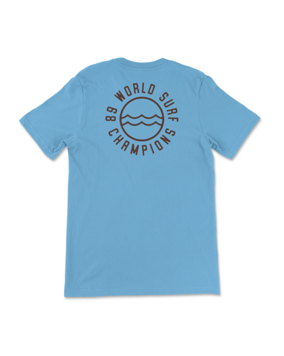 Blue 89 World Champions T-Shirt Back