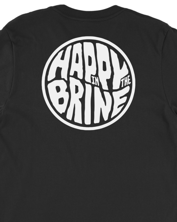 Black Badge of Good Times T-Shirt Back Graphic Detail