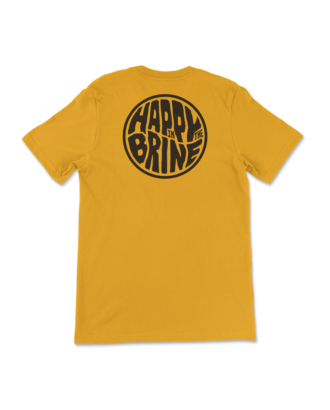 Mustard Badge of Good Times T-Shirt Back