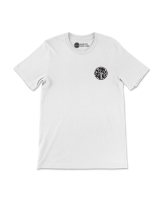 White Badge of Good Times T-Shirt Front