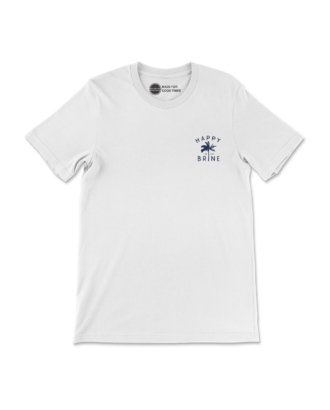White Contemporary Radness T-Shirt Front