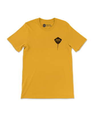 Mustard Stingray Stompers Club T-Shirt Front
